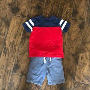 Boys shorts and shirt